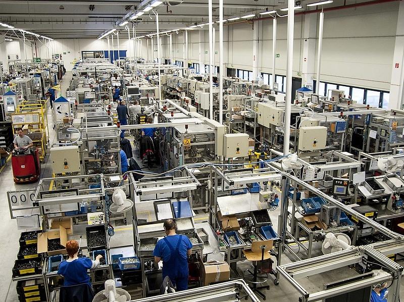 6,3 százalékkal nőtt az ipari termelés áprilisban