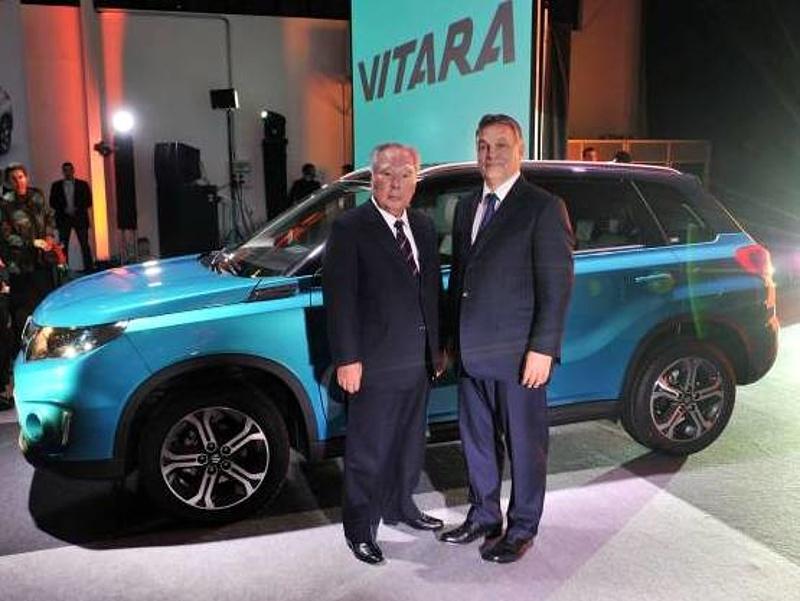 Ebbe a Suzukiba szerettek bele a magyarok