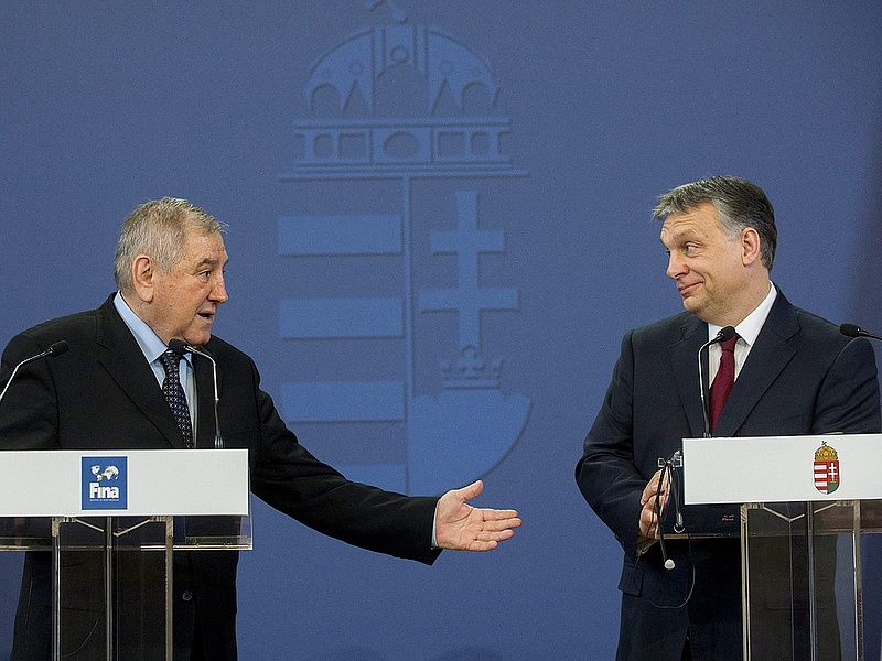 Orbán bejelentette: Budapest rendezi a 2017-es vizes vb-t