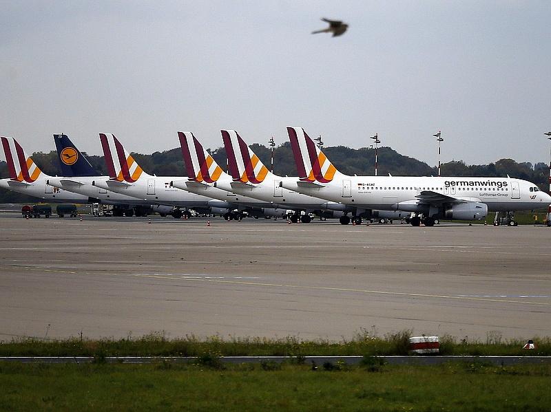 Sztrájk miatt változás a Lufthansa és a Germanwings járatainál