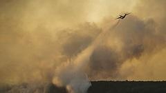 Tűz ütött ki Csernobilban
