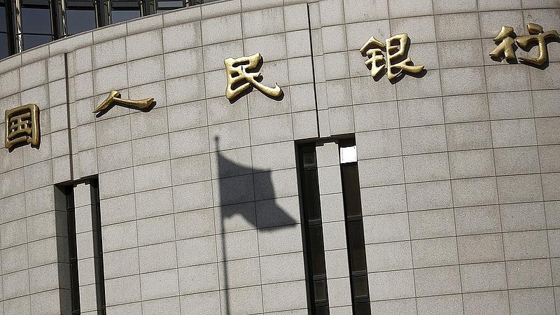A kínai jegybank csökkenti a bankok kötelező tartalékrátáját
