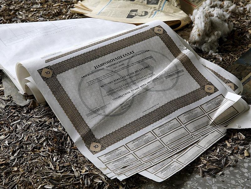 Már nyomtatják a görög drachmát?