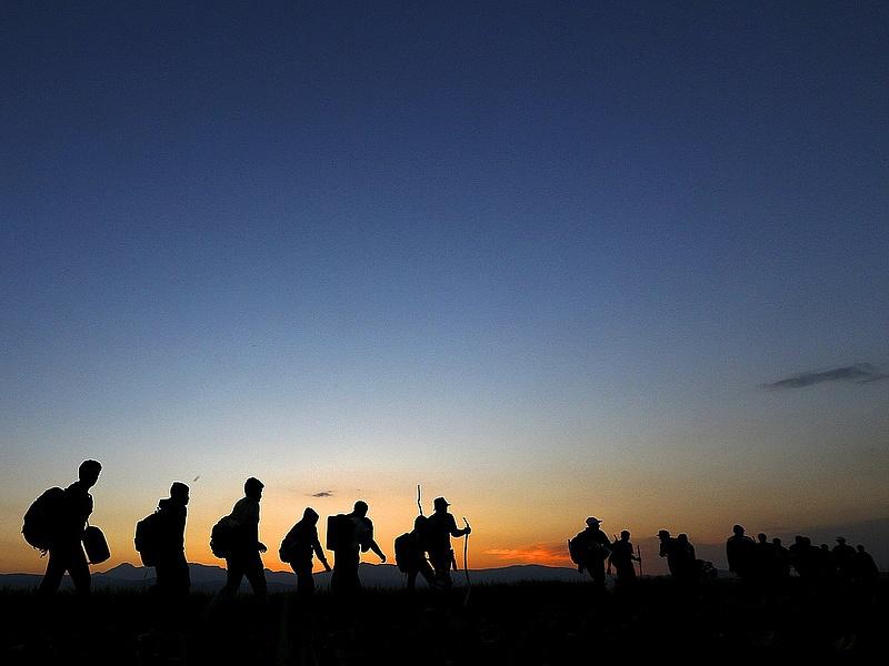 Frontex: júliusban több mint 100 ezer migráns érkezett az EU-ba