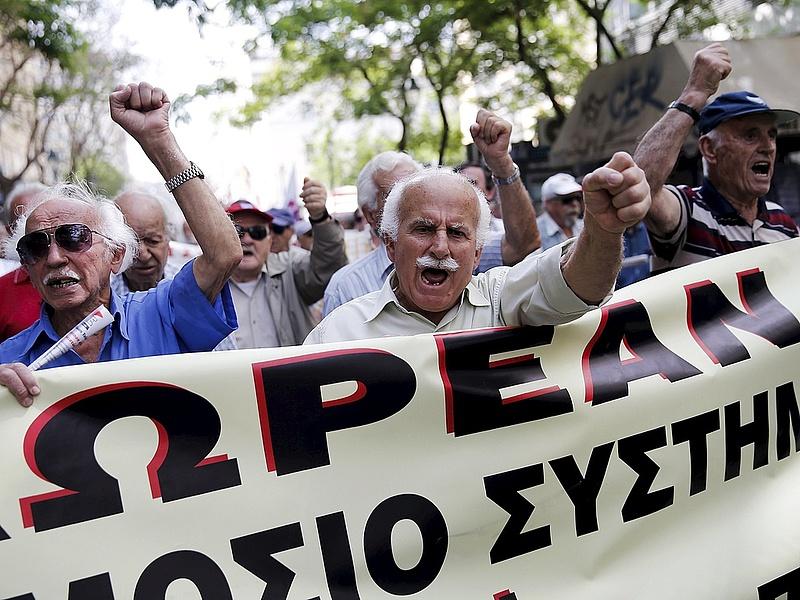 A görögök kiakasztották az IMF küldöttségét