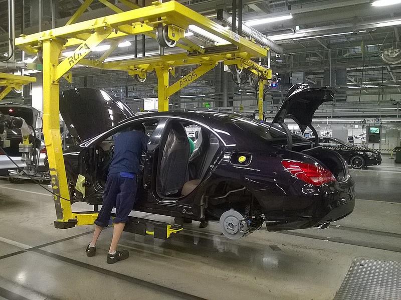 Ezt a Mercedes-gyárat elbukták