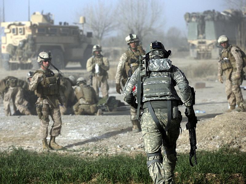 Lezuhant egy amerikai katonai teherszállító repülőgép Afganisztánban