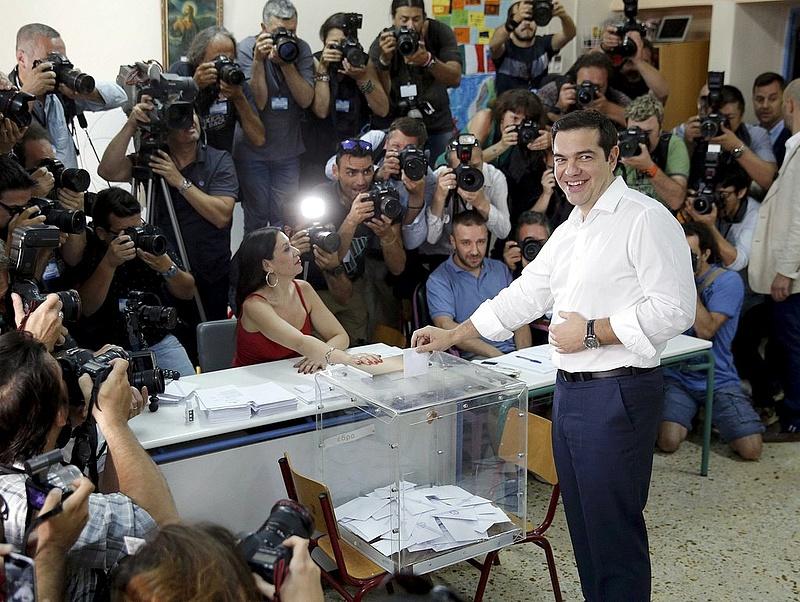 Ciprasztól várják a görög reformcsomagot az eurózóna csúcsvezetői