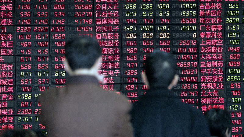 Már Kínának is sok lett az amerikai tőzsdelufiból