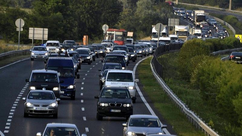 Budapest felé már járható az M7-es autópálya
