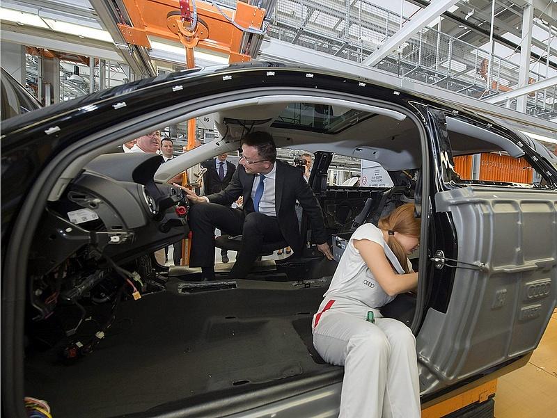 Nőttek az Audi eladásai szeptemberben