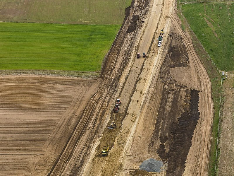 A Duna Aszfalt építi tovább a nyíregyházi elkerülő utat