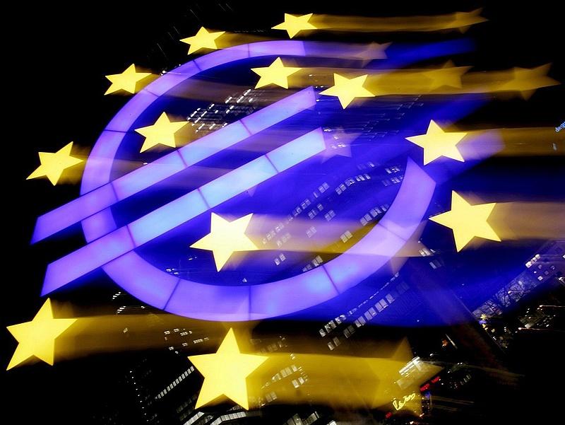 Csökkentek az árak az eurózónában