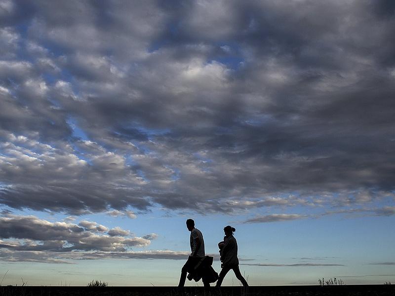Menekültválság: óriási változás a szerb-horvát határnál