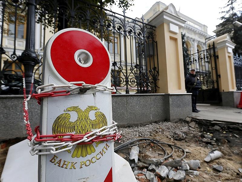 Idén ötödször is kamatot emelt az orosz jegybank
