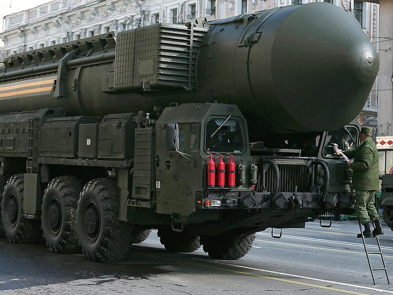 Ballisztikus rakétákat tesztelt Putyin