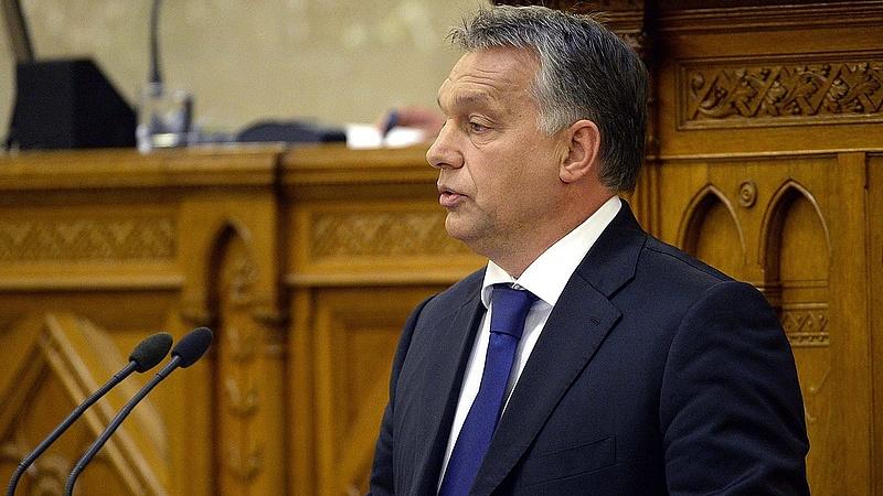 Megrázó beszédet tartott Orbán a parlamentben