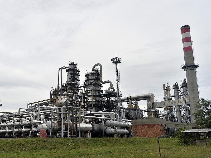 A Mol 35 napig nem kapott kőolajat Oroszországból