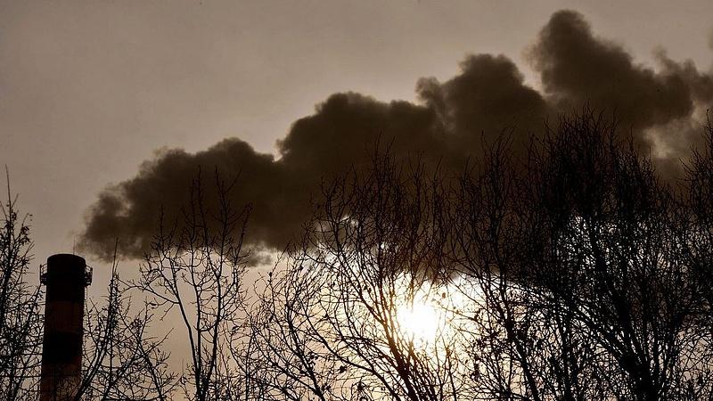 Veszélyes a levegő minősége több magyarországi településen
