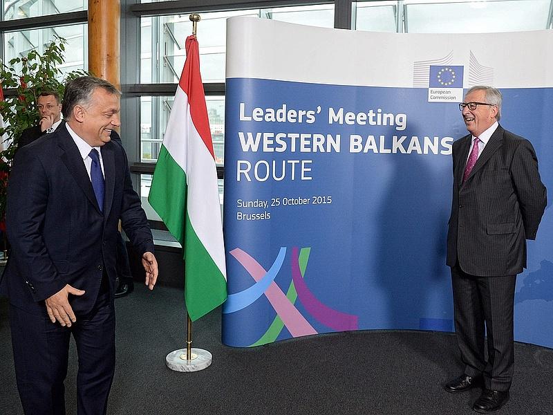 Orbán: Magyarország kész segíteni a migránsútvonalon fekvő államokat