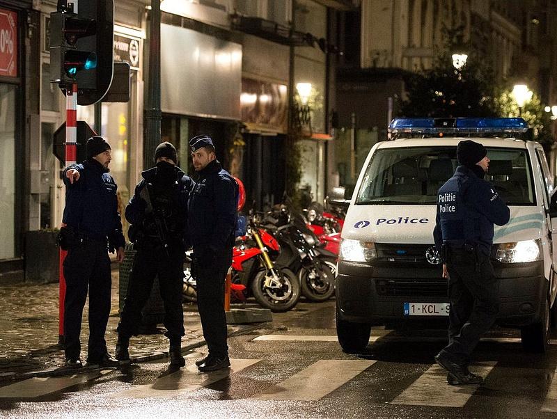 Lazítás Brüsszelben: komoly rendőri intézkedésre került sor
