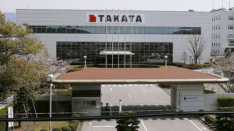 Veszteséges évet zár a Takata a légzsákbírság miatt