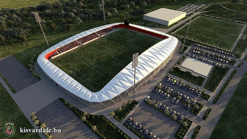 Közel félmilliárddal drágul a kisvárdai stadion