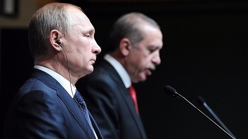 """Putyin és Erdogan együtt \""""tenne rendet\"""" Szíriában"""