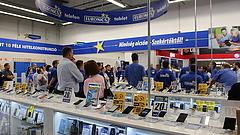 Szétkapták a vásárlók az egyik műszaki áruházláncot