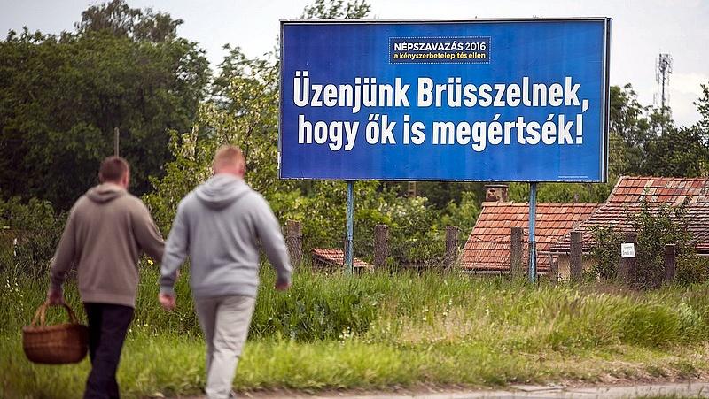 Tudta? Ennyiért üzent a magyar kormány Brüsszelnek