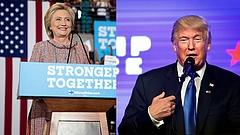 Clinton lemosta Trumpot