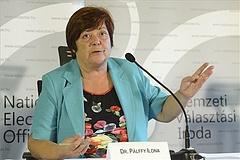 Nyugdíjba megy Pálffy Ilona, a Nemzeti Választási Iroda elnöke
