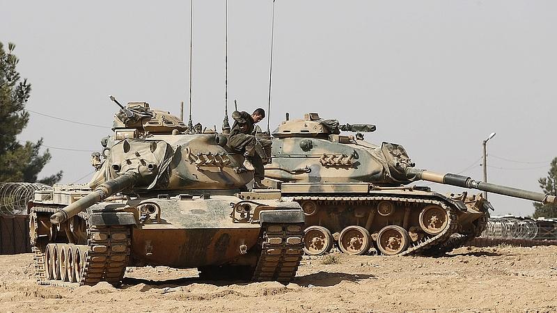 Elfogyott Erdogan türelme - benyomulhat Szíriába a török hadsereg