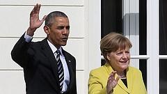 Közös cikket jegyez Merkel és Obama