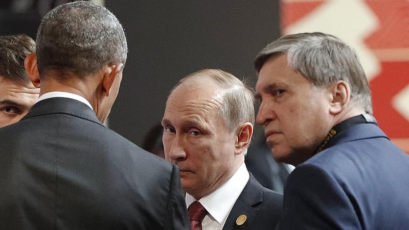 Obama beszélt Putyinnal - ezt javasolta neki Limában