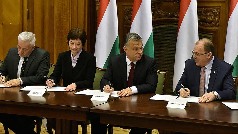 Bérmegállapodás - közbeléptek Orbán testőrei