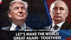 Hálót szőttek az oroszok, Putyin pókként várt a fogásra