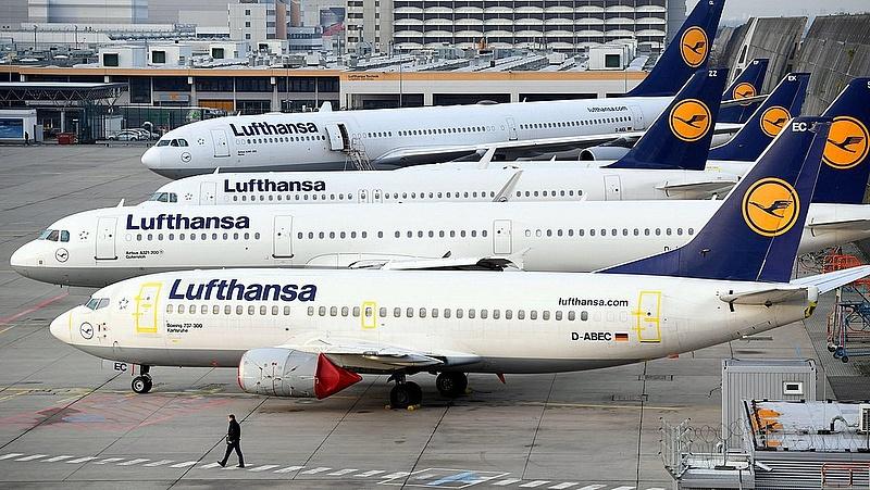 Bajba kerülhet a Lufthansa