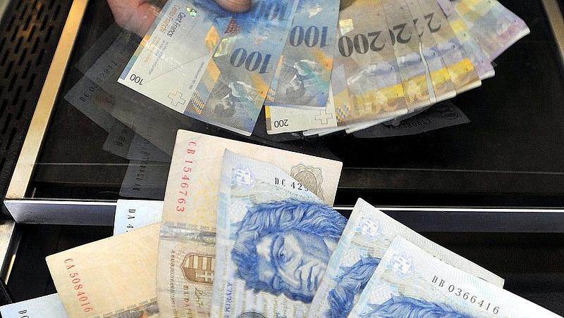 Begyengült a forint az euróval szemben