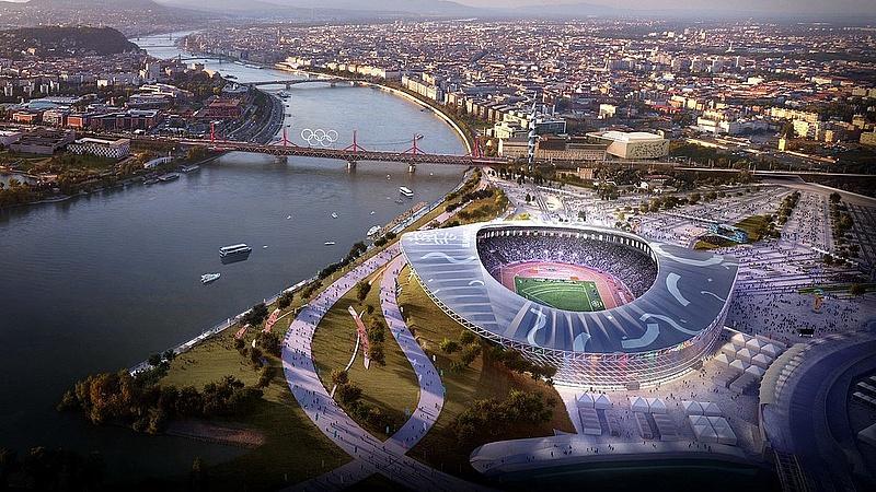A budapesti Duna-parton fájó természetkárosítás jön a stadionépítés miatt