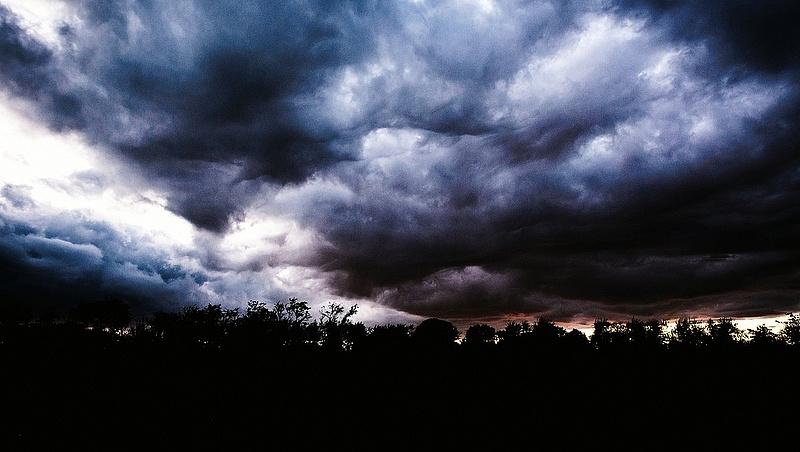 Durva időjárást hoz az április - eső, vihar jön