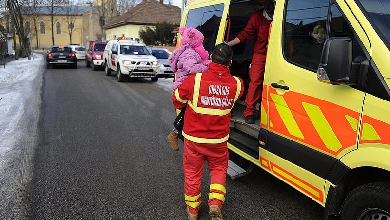 Figyelmeztetést adott ki a mentőszolgálat