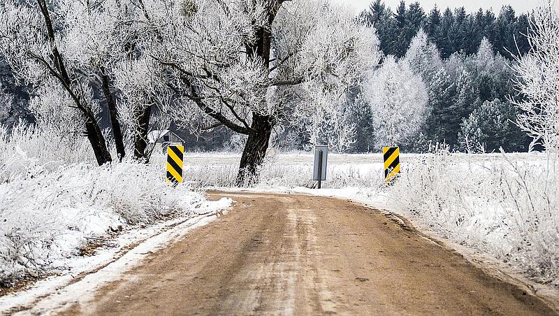 Keletről érkezik a tél - mutatjuk, hol mekkora hó lehet
