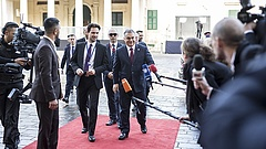 Olasz fordulatban látja a megoldást Orbán Viktor