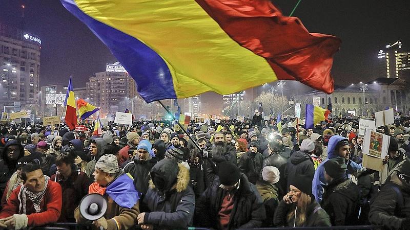 Nagy a baj Romániában