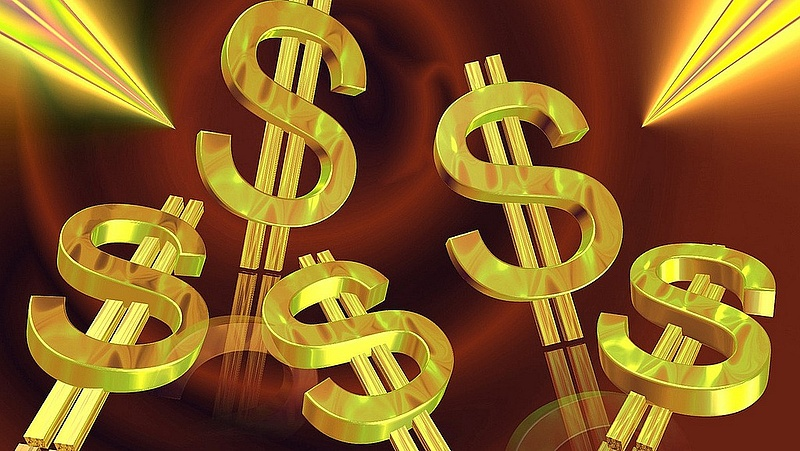 A dollárral szemben nagyon erős a forint