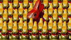Árkörkép - satuba kerülnek a vásárlók húsvétkor