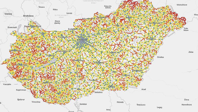 benzinkút térkép Hol van a legközelebbi benzinkút?   Remek térkép készült   Napi.hu benzinkút térkép