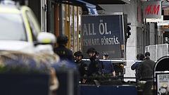 A tömegbe hajtott egy teherautó Stockholmban