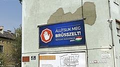 """EU: kemény válasz érkezett az \""""Állítsuk meg Brüsszelt\"""" kampányra"""